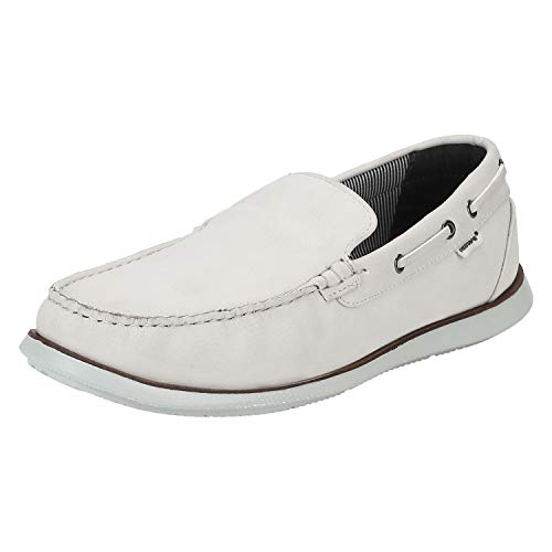 6. Red Tape Men's Rts110 Mint Green Loafers