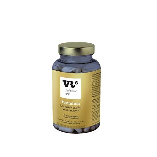VR6 Definitive Hair Premium Suplemento Nutricional - 120 Cápsulas