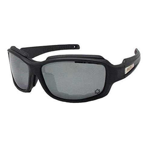 RIDEZ Protection Eyewear(ライズプロテクションアイウェア) マットブラックフレーム スモーク偏光レンズ RS904-1