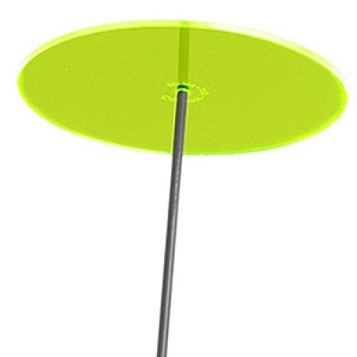 Cazador-del-sol ® | Uno | Sonnenfänger grün, Durchmesser 20 cm, 1,75 Meter hoch - das Original