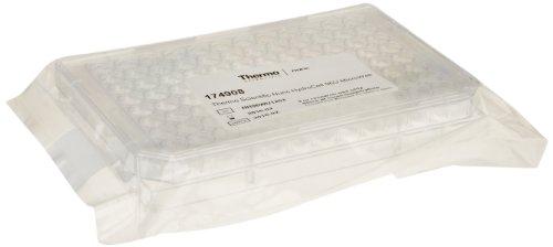 Nunc 96 Well Round Hydrocell Mikroplatte, transparent, 300 µl Volumen (Box mit 8 Stück)