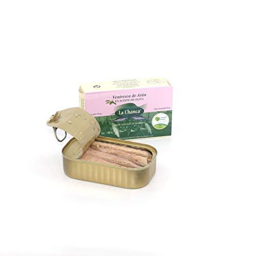 Ventresca de atún en aceite | Bauchfleisch vom Gelbflossen-Thunfisch in Olivenöl | 125g