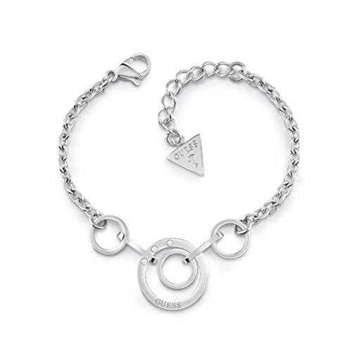 Guess armband Eternal Circles UBB29027-S zilver