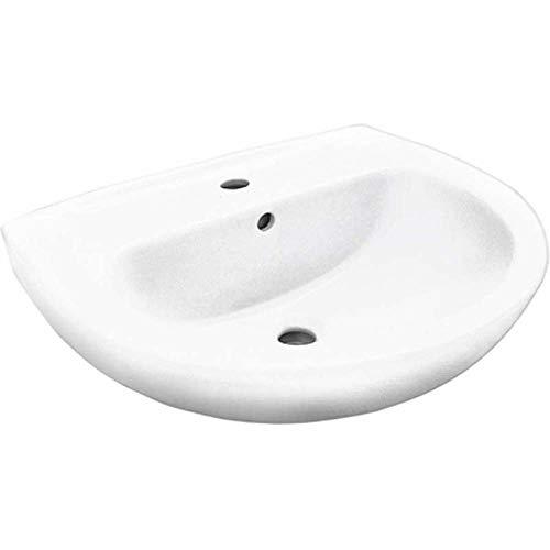 Lavandino LAVABO FELCE LINPHA Sanitari Ceramica Monoforo L. 60