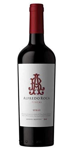 Alfredo Roca- Vino Tinto Syrah- Industria Mendoza -Argentina - Vino Trascendente por su Descomunal Sabor a Frutas Oscuras y Ciruelas- Cosecha 2018-75 Cl