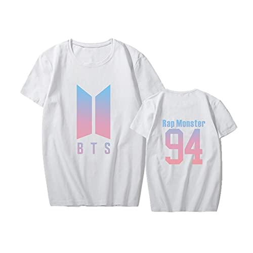 VERSRH B-T-S Merchandise Todos los Miembros Camiseta KPOP Bangtan Boys Summer Camisa...