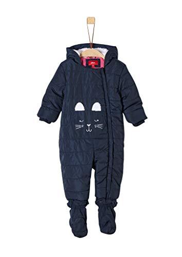 s.Oliver Baby-Mädchen 59.909.85.8870 Schneeanzug, Blau (Dark Blue 5952), (Herstellergröße: 86)