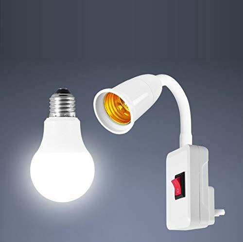LED energiebesparende gloeilamp bedlampje wandlamp stopcontact type stopcontact slaapkamer super heldere verlichting voering nachtlampje