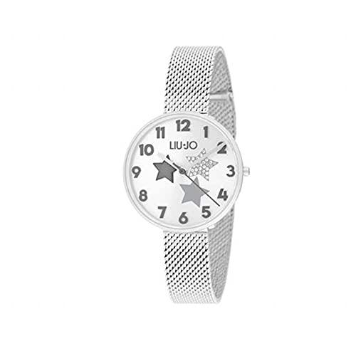 Liu Jo Luxury - Reloj de mujer Complicity con cápsulas de estrellas, color gris