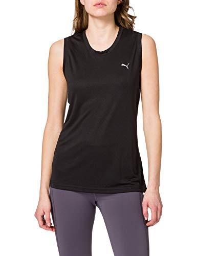 PUMA Performance Tank W Camiseta De Tirantes, Mujer, Black, L