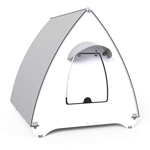 Palram Mona Outdoor Cat House and Shelter, Cat Kennel for Small Medium Cats...