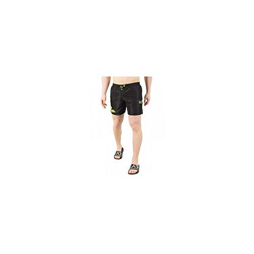 Emporio Armani Heren Zee Wereld Strandkleding Fluo Eagle Boxers Board Shorts