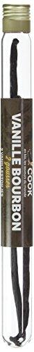 Cook Vanille Bourbon 2 gousses Bio, environ 7 g