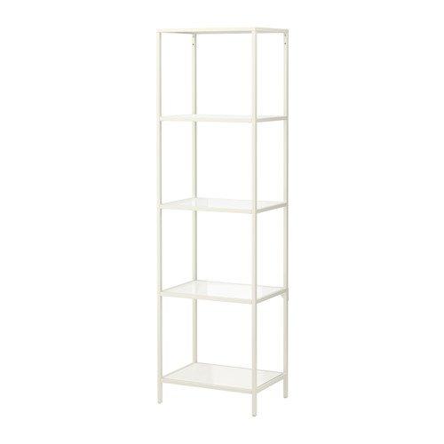 Ikea Billy FLYSTA Shelving Shelf Unit White Bundle with Feltectors 392.177.44