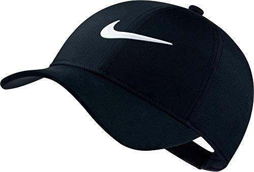 NIKE Women's AeroBill Legacy 91 Perforated Cap, Black/Anthracite/White, One Size
