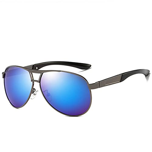 Gafas polarizadas Metal Classic Aviator Aviador Gafas de Sol para Hombres