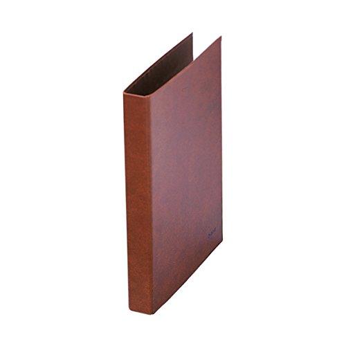 Dohe- Carpeta cuero forrado, 4 anillas de 25 mm, folio (9553)