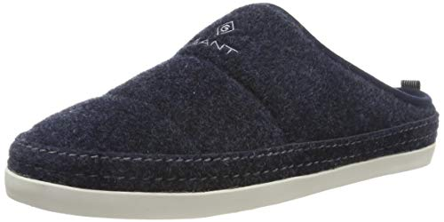 GANT Footwear Herren FRANK Pantoffeln, Blau (Marine G69), 41 EU