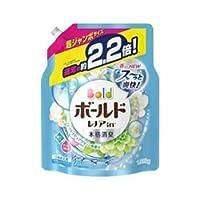【P&G】ボールドジェル フレッシュピュアクリーンの香り つめかえ用 超ジャンボサイズ 1.58kg ×10個セット