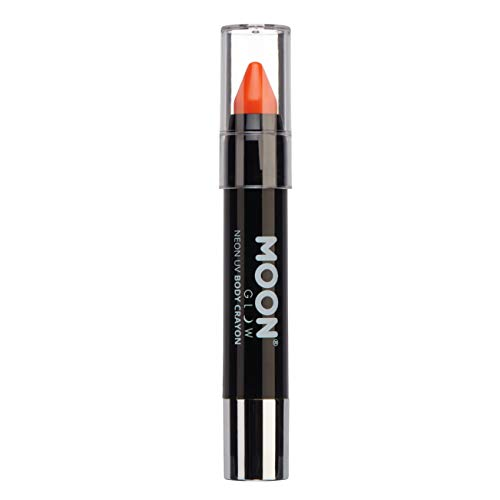 Moon Glow – Stick de peinture intense fluo UV - Intense Orange