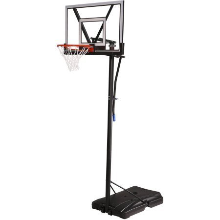 Lifetime 90585 Portable Basketball System, 48 Inch Polycarbonate Shatterproof Backboard - Gray
