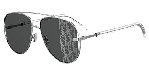 Dior gafas de sol DIORSCALE 010/KW Plata gris talla 58 mm Hombre