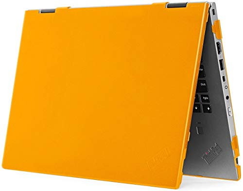 "mCover Hard Shell Case for 2020 14"" Lenovo ThinkPad X1 Yoga (4th Gen) Laptop Computer (Orange)"