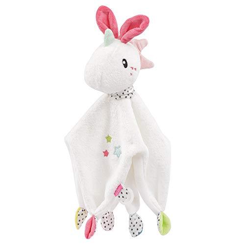 FEHN 057119 - Manta de seguridad con diseño de unicornio y cámara de juegos, para dormir y para bebé a partir de 0 meses