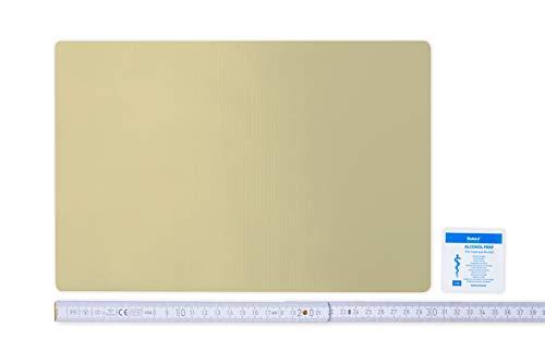 Flickly Anhänger Planen Reparatur Pflaster | in vielen Farben erhältlich | 30cm x 20cm | SELBSTKLEBEND (Elfenbein)