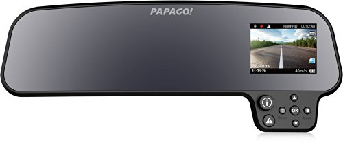 """GoSafe260 GS260-US GoSafe 260 Full HD 1080P Rear-view Mirror Mount Dashcam with 2.7"""" Display (Black)"""