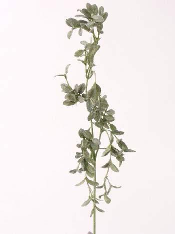artplants.de Set 9 x Ramas sintéticas de alheña Textil RADIMIR, Helada, Verde,...