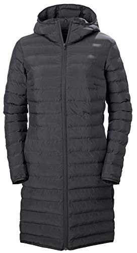Helly Hansen W Urban Liner Coat Abrigo de Vestir, 990 Black, S para Mujer
