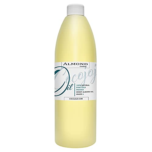 Sweet Almond Oil - Face Skin Hair Cold Pressed 16...