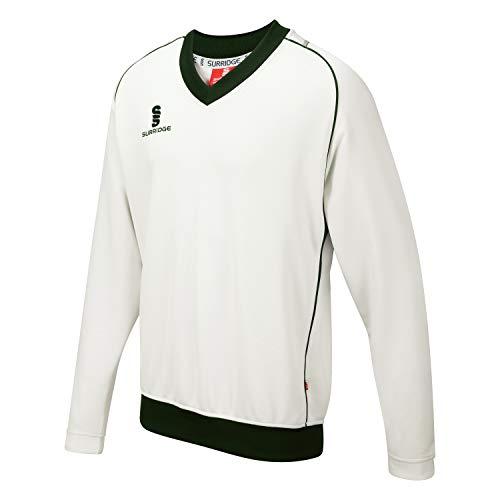 Surridge Sports Curve Sleeveless Suéter, Hombre, Verde, S
