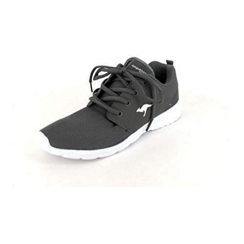 KangaROOS Unisex-Erwachsene Hinu Sneaker, Grau (Steel Grey), 41 EU