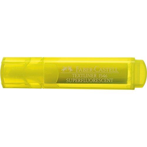 Faber Castell 942205–Textmarker mit transparenten Körper, gelb