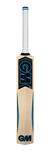 GM Cricket neón bat-101, Unisex, Neon Cricket, Azul, SZ 1