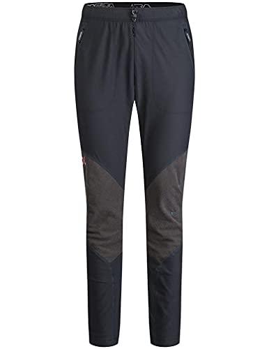 MONTURA Vertigo Pants Uomo MPLSV0X 9083 Colore Nero Blu Ottanio Pantaloni Lunghi Invernali Ideali per attività Outdoor Come Trekking Alpinismo Sci Alpinismo L