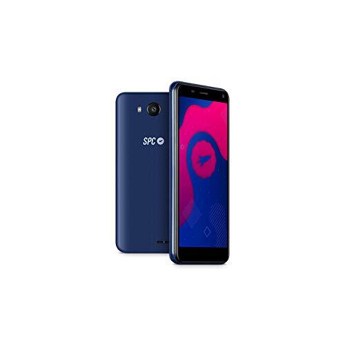 "SPC SMART - Smartphone de 5"" (Dual SIM, 16GB de ROM ampliables, 2GB de RAM, cámara de 8MP, Quad-Core 1,3GHz, Android 9) – Color Azul"