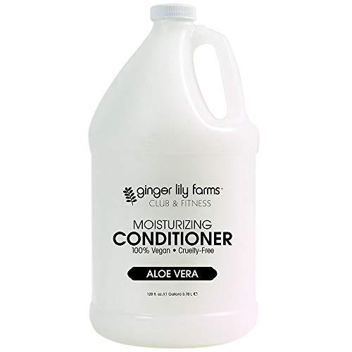 Price comparison product image Ginger Lily Farms Club & Fitness Aloe Vera Moisturizing Conditioner,  100% Vegan,  Paraben,  Sulfate,  Phosphate,  Gluten & Cruelty-Free,  1 Gallon