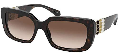 Bulgari Gafas de sol BV8223B 504/13 Gafas de sol Mujer color Marrón Habana medida de lente 56 mm