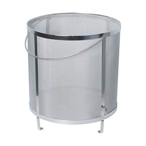 Gekufa Wine Hop Filter 300 Micron Mesh 304 Stainless Steel Strainer for Homebrew Wine Beer Tea Kettle Brew Filter118×122 inch