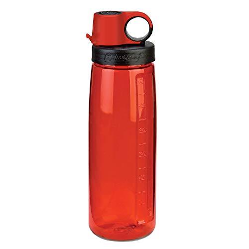 Nalgene On the Go Water Bottle, Lollipop Red, 24 oz