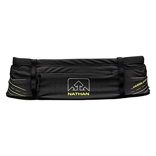 Nathan - Vapor Krar Waist Pak 600ml Unisex Laufgürtel (schwarz/gelb) - S/M
