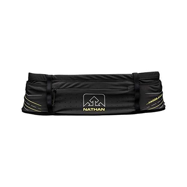 Nathan Running Belt VaporKrar Hydration Waistbelt WaistPak. Includes Soft Flask,...