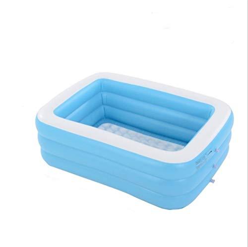 Mrjg 1.1m / 1.3m / 1.5m / 1,96/2.62m / 3.05m Piscina Inflable Adultos de los niños Piscina de baño de hidromasaje al Aire Libre Piscina Interior (Color : 1.5m)