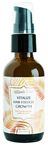 Naturelle Health's Vitalize Hair Growth Serum With Vitamins - 28 Proven Ingredients with One Single...
