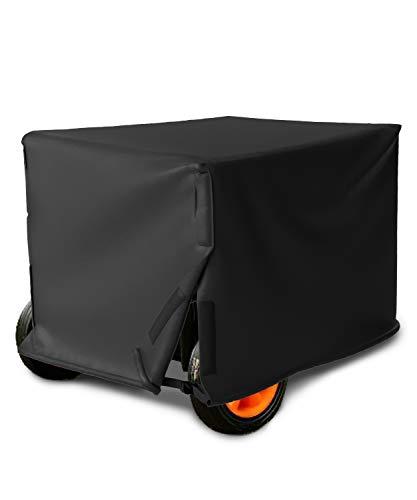 SHINESTAR Portable Generator Cover for 3000/3500/4000/4500/5000 Watt, 26 x 20 x 20 Inch Heavy Duty Waterproof Universal Generator Cover, Medium