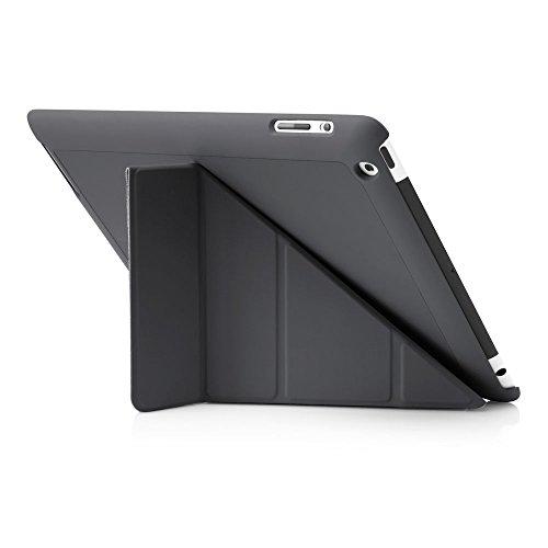 PIPETTO-Funda para iPad, diseño de Origami - Grigio iPad 2, 3, 4