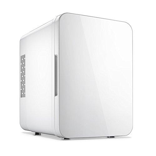Sunjun Mini frigo Silenzioso 4L Raffreddamento e Riscaldamento (Colore : Bianca)